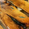 میز اپوکسی و چوب2