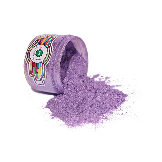 رنگ پودری صدفی بنفش