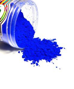 رنگ پودری آبی