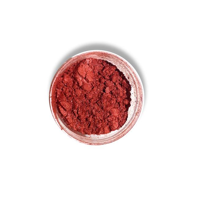 رنگ قرمز صدفی پودری