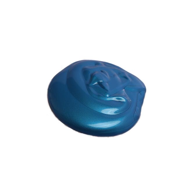 رنگ اکریلیک آبی صدفی آبستره