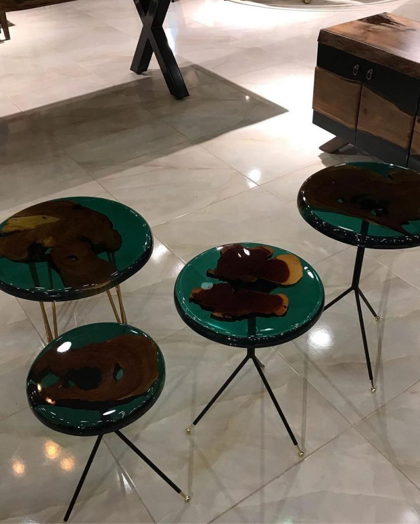 نمونه میز رزینی آقای زینال پور