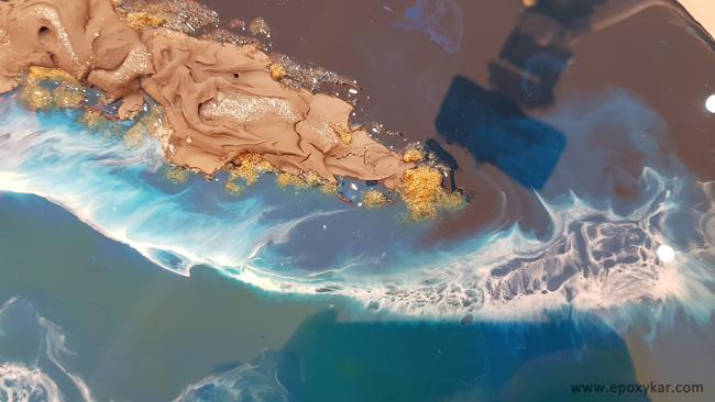 آموزش موج دریا رزین