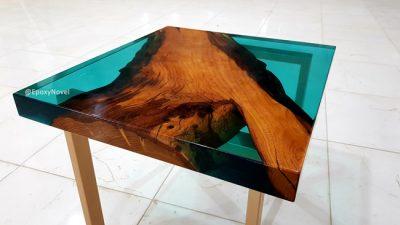 میز چوب و رزین