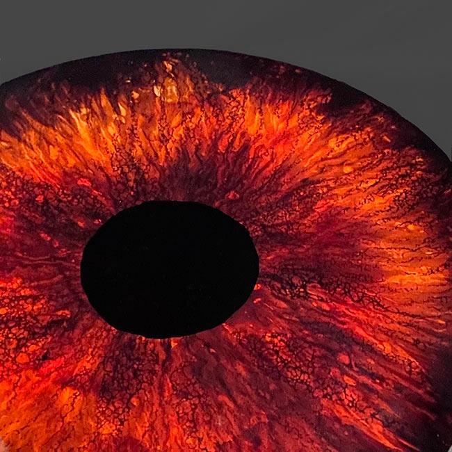 تکنیک عنبیه چشم- اپوکسی کار