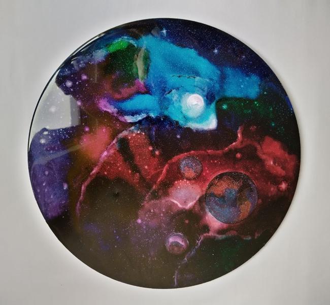 نکنیک کهکشان رزینی-اپوکسی کار